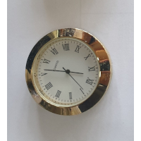 43mm Clock Fit Up Gold Roman White Face