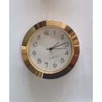 43mm Clock Fit Up Gold Arabic White Face