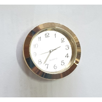 36mm Clock Fit Up Gold Arabic